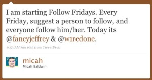 Why #FollowFriday ?  How it's used  #FF #NetDe #Delaware